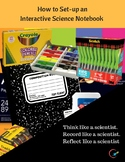 Interactive Science  Notebook (ISN) Set-up