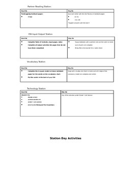 Interactive Science Notebook ISN Setup Freebie