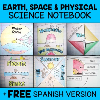 Earth Space Physical Science Interactive Notebook