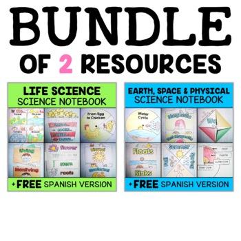 Interactive Notebooks - Science Bundle