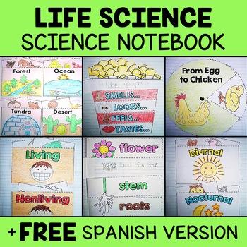 Interactive Notebook - Life Science Activities