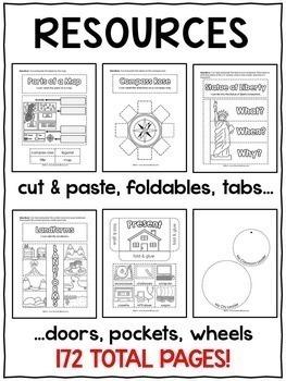Interactive Notebook - Social Studies Activities