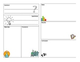 Interactive Science Notebook Lab Report Template