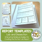 Lab Report Templates for Interactive Notebook