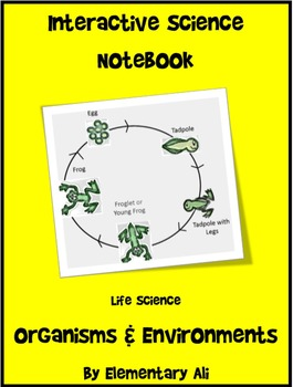 Interactive Science Notebook: Organisms and Environments (STAAR)