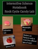 Interactive Science Notebook Rock Cycle Candy Lab