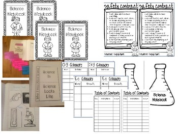 Interactive Science Notebook- Set Up
