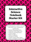 Interactive Science Notebook Set-up Starter Kit