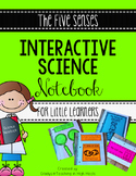 Interactive Science Notebook The Five Senses