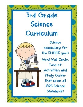 Soil grade 3 teaching resources teachers pay teachers science activities vocabulary inquiry covers all grade 3 ga standards fandeluxe Choice Image