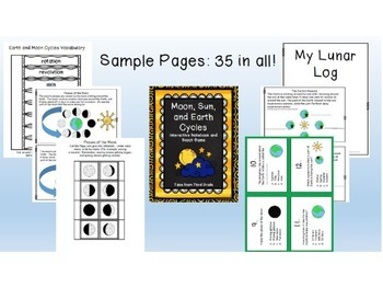 Interactive Science Notebook and Games Growing Bundle