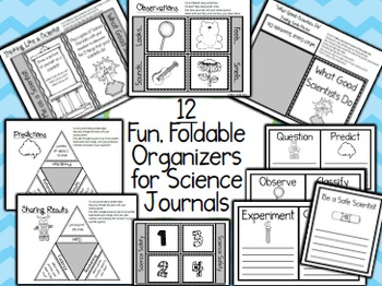 Interactive Science Organizers for ANY Topic {EDITABLE}