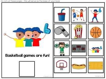 Interactive Science Pack: Exploring the Five Senses at a Basketball Game