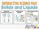Interactive Science Packs: Solids and Liquids