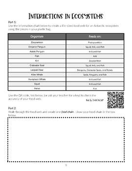 Interactive Science STAAR Review- Reporting Category 4 (Organisms & Environment)