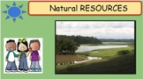Interactive Science Unit on Natural Resources on Google Slides