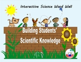 Interactive Science Word Wall