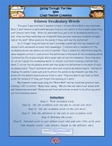 Interactive Science Word Wall with Pictures & Definitions