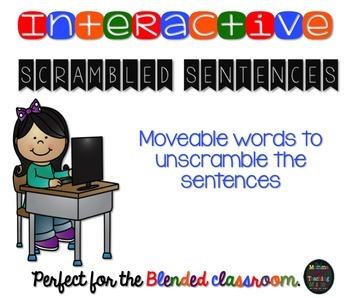 Interactive Scrambled Sentences