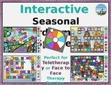 Interactive Seasonal Boargame & Spinner