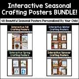 Interactive Seasonal Crafting Poster BUNDLE
