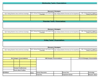 Interactive Second Grade Social Studies Lesson Plan Template-Florida