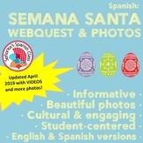 Spanish - Informative Semana Santa Webquest & Beautiful Powerpoint Presentation