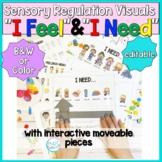 Sensory Regulation Visuals: I Feel and I Need Interactive Boards