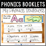 Interactive Sentence Alphabet Booklets