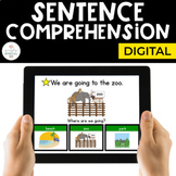Digital Sentence Comprehension for Special Education   Distance Learning