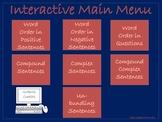 NO PRINT: Interactive Sentence Structure, Word Order & Sen