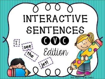 Interactive Sentences CVC Edition
