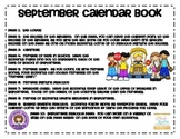 Interactive September Calendar Workbook