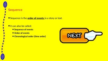 Interactive Sequence Powerpoint