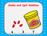 Interactive Shake And Spill Addition