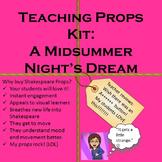 A Midsummer Night's Dream Teaching Props Kit :Shakespeare