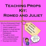 Romeo and Juliet Teaching Props Kit Shakespeare