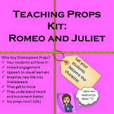 Romeo and Juliet Teaching Props Kit Shakespeare