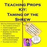 Taming of the Shrew Teaching Props Kit: Shakespeare