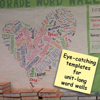 Interactive Shakespeare Walls! Sticky Note Madness!
