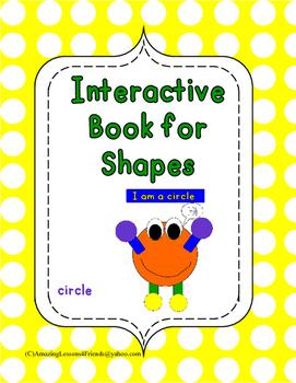 Interactive Shape Book Circle
