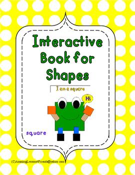 Interactive Shape Book Square