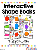 Interactive Shape Books: Adapted Books to Practice Shapes
