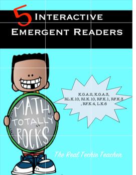 Interactive Shape Emergent Reader Pack