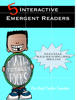 Interactive Shape Emergent Reader Pack