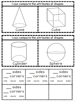 Interactive Shape Notebook by Kinder League