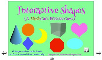 Interactive Shapes Game