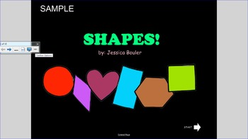 Interactive Shapes for Early Childhood