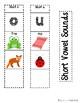 {CCSS.ELA-Literacy.L.2} Interactive Short Vowel Foldable