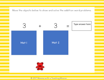 Interactive Showing Addition for Google Drive Classroom